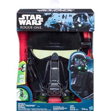 Hasbro Star Wars: Rogue One Imperial Death Trooper Voice Changer Mask