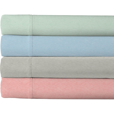 Heather's Touch 200 Thread Count Sheet Set, Gray