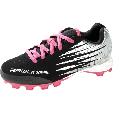 be39c3dbed0f Rawlings Girls Big Show Softball Cleats | Running | Shoes | Shop The ...