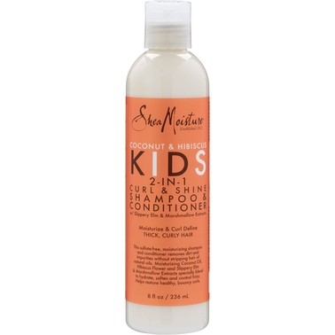Shea Moisture Coconut and Hibiscus Kids 2 in 1  Shampoo and Conditioner