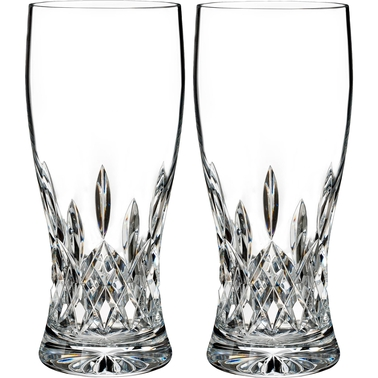 Waterford Lismore Connoisseur Pint Glass 2 Pk.