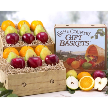 Wine Country Gift Baskets Wine Country Fruit Extravaganza