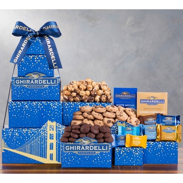 Wine Country Ghirardelli Chocolate Company Tower with Ice Pack