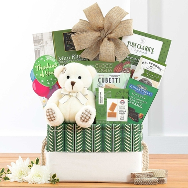 Wine Country Food Baskets Bear Hugs Thinking Of You Gourmet Food Basket