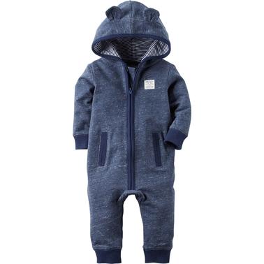 6b022e731 Carter s Infant Boys Bear Jumpsuit With Ears