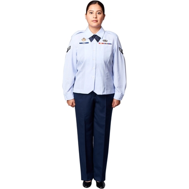 Brooks Brothers Women's Premier Air Force Uniform Shirt