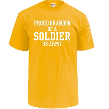 Soffe Proud Grandpa Of A Soldier Tee