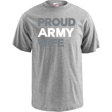 Soffe Proud Army Wife Tee