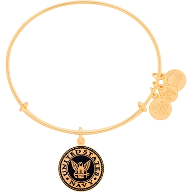 Alex And Ani US Navy Charm Bangle