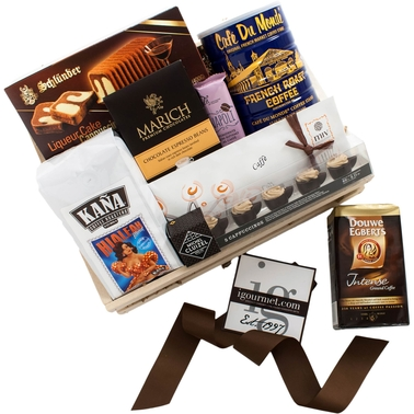 The Gourmet Market Dark Roast Gift Crate