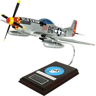 Daron P-51D Mustang Silver Old Crow Replica 1/24