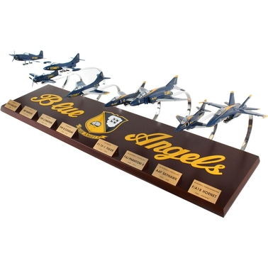 Daron US Navy Blue Angels Collection 8 Plane Set 1/72