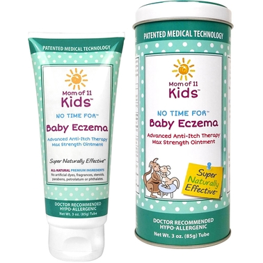 Mom of 11 Kids No Time For Baby Eczema