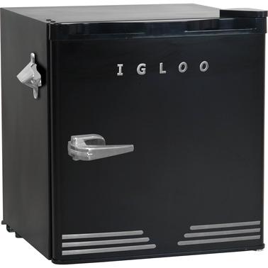 Igloo 1 6 Cu Ft Retro Fridge With Side Bottle Opener