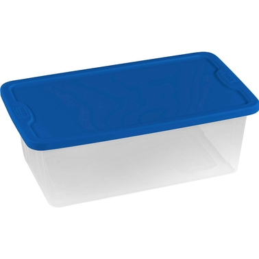 Homz Storage Tote with Lid