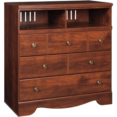 Signature design by ashley brittberg media chest media for Hometown furniture exchange