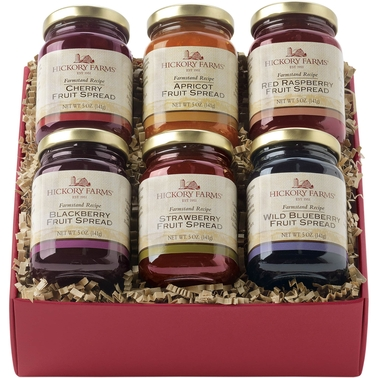 Hickory Farms Farmstand Fruit Spreads Gift Box