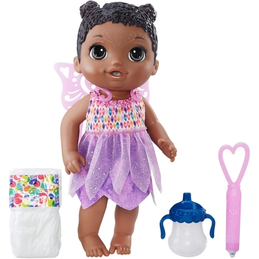 Baby Alive Face Paint Fairy Doll, African-American