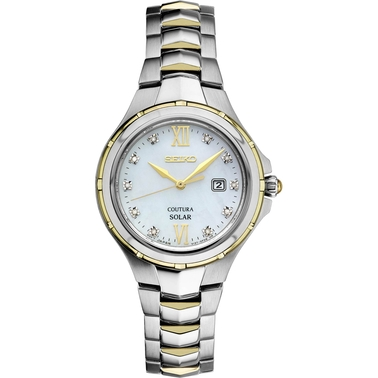Seiko Women's Coutura Solar Watch 29MM SUT308