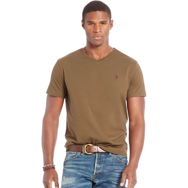 870abcb167c6 Polo Ralph Lauren Cotton Jersey V Neck Tee