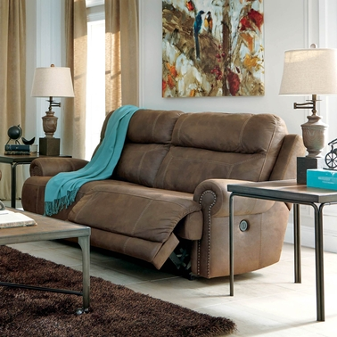 Ashley Austere Power Reclining Sofa