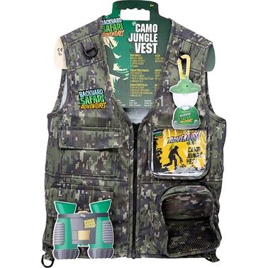 Backyard Safari Jungle Camo Cargo Vest | Science ...