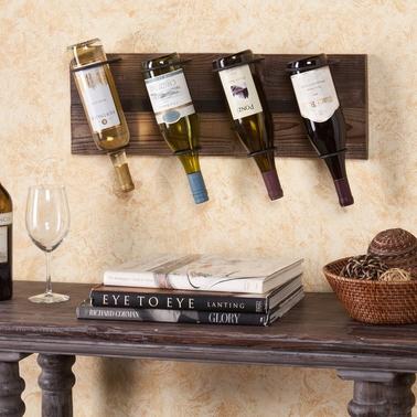 Sei Saxon Wall Mount Wine Storage Bar Furniture Home