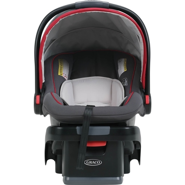 Graco SnugRide SnugLock 35 Infant Car Seat, Chili Red