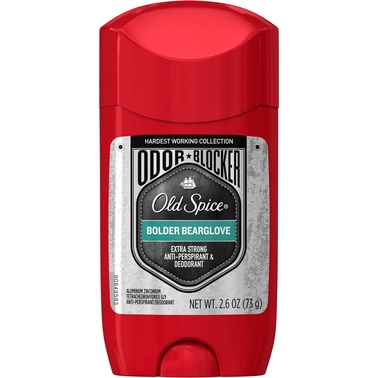 Old Spice Hardest Working Collection Bolder Bearglove Antiperspirant and Deodorant