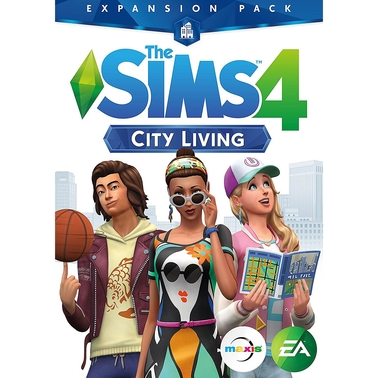 Sims 4: City Living Expansion Pack | Pc Games | Electronics | Shop