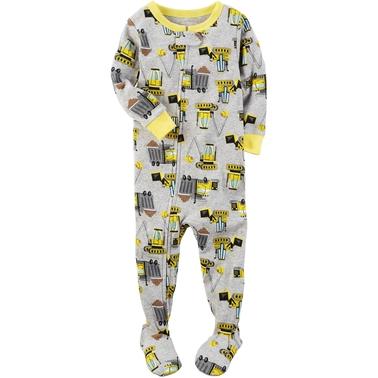 62f81aaac Carter s Infant Boys 1 Pc. Construction Pajamas