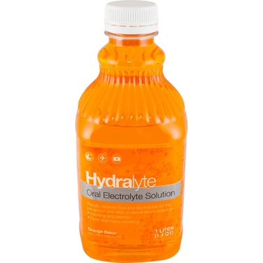 Hydralyte Oral Electrolyte Solution Orange Flavor