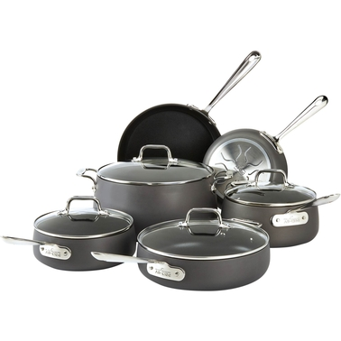 All-Clad HA1 Cookware 10 Pc. Set