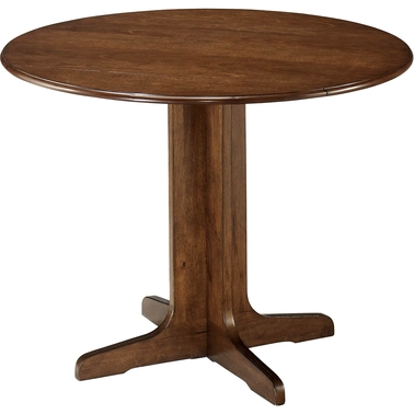 Ashley Stuman Round Drop Leaf Table