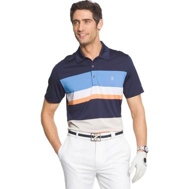 11723327782 Izod Golf Engineered Stripe Jersey Polo Shirt | Polos | Apparel ...