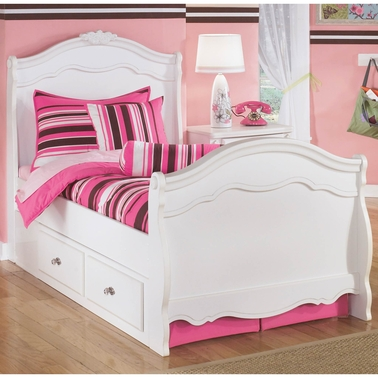 Signature Design by Ashley Exquisite Storage Bed