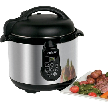 Salton 5 in 1 Electronic 5 Qt. Pressure Cooker