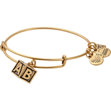 Alex and Ani Charity by Design Baby Block Bangle