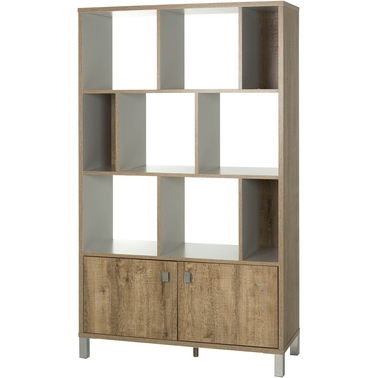 south shore expoz 9 cube bookcase | bookcases & cabinets