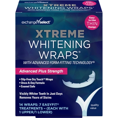 Exchange Select Xtreme Whitening Wraps (With Advanced Form Fitting Technology)