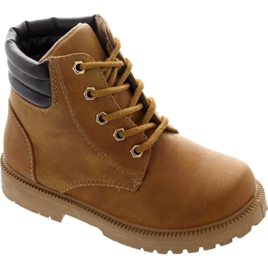 Rugged Bear Boys Ankle High Top Boots