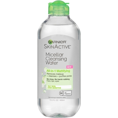 Garnier SkinActive Micellar Cleansing Water All-in-1 Mattifying for Oily Skin