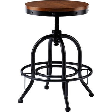 Southern Enterprises Adjustable Industrial Stool