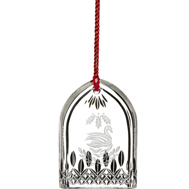 Waterford Lismore 12 Days Collection Seven Swans Ornament 2017