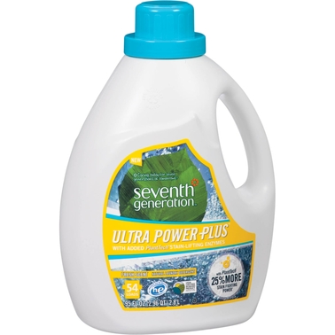 Seventh Generation Ultra Power Plus Fresh Scent Liquid Laundry Detergent