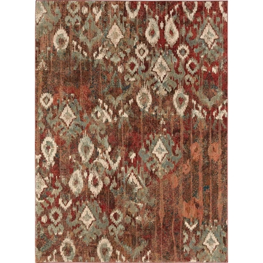 Karastan Intrigue Rivet Multi Rug