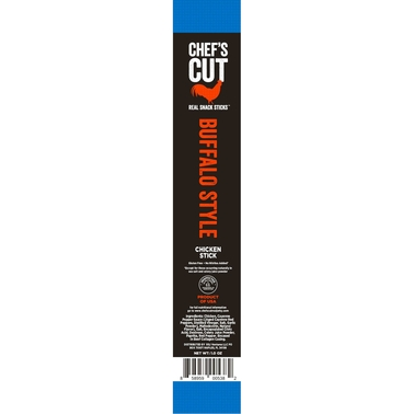 Chef's Cut Real Jerky Real Snack Sticks, Buffalo Style 16 pk.