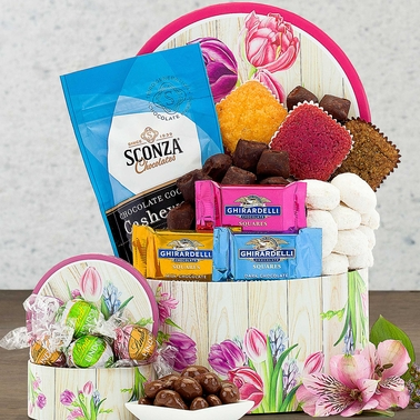 Wine Country Chocolate and Cookie Collection Gift Basket