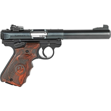 Ruger Mark IV Target 22 LR 5.5 in. Barrel 10 Rnd 2 Mag Pistol Blued
