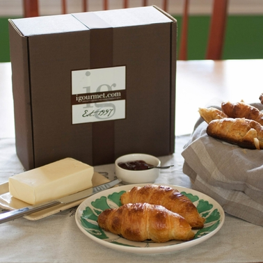 The Gourmet Market French Butter Croissant Gift Box